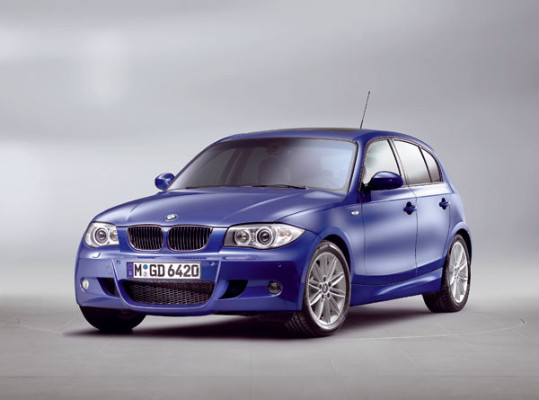 Pressemappe BMW 1er