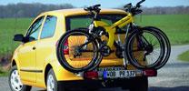 Volkswagen bietet Fahrradträger für Fox