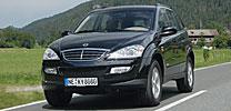 SsangYong Kyron: Neuer Top-Diesel für das Korea-SUV