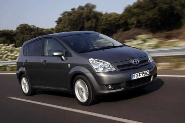 Toyota Corolla Verso - Frontansicht