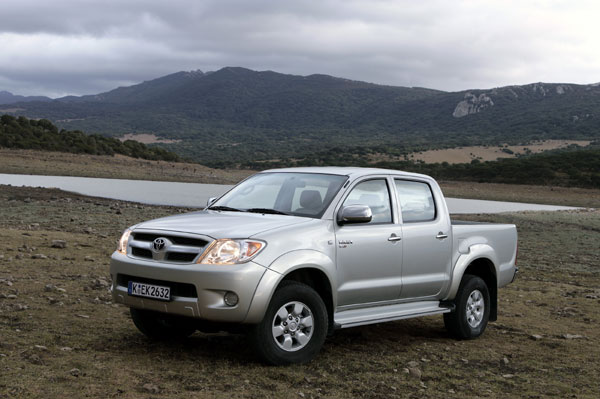 Toyota Hilux - Frontansicht