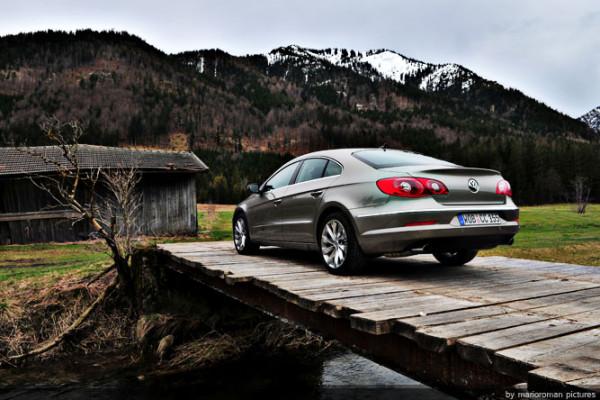 Phaeton Junior lässt grüßen - VW Passat CC