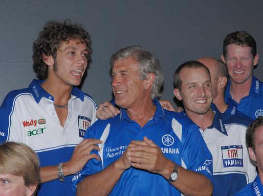 Rossi auf Rekordjagd: Zuerst Nieto und dann Agostini