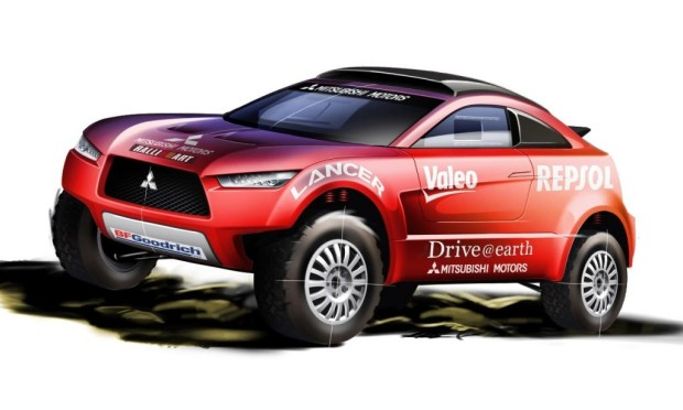 Mitsubishi setzt bei der Rallye Dakar auf den Lancer