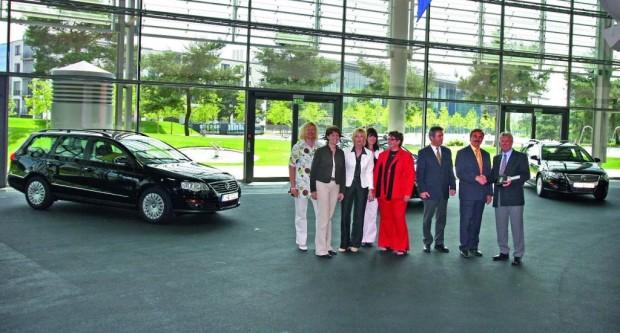 Passat Variant BlueMotion verstärken ARGE-Fuhrpark