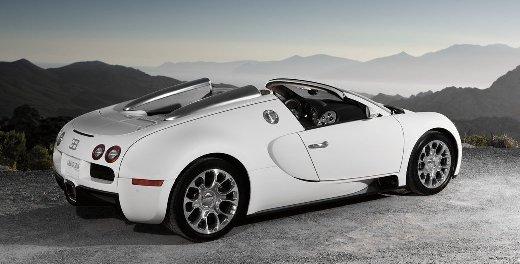 Bugatti Veyron 16.4 Grand Sport: Ohne Dach mit 360 km/h