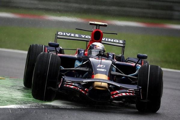 Qualifying - Regenpole für Vettel: Favoritensterben im Q2