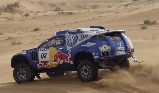 Volkswagen absolviert ''Dakar''-Test in Marokko