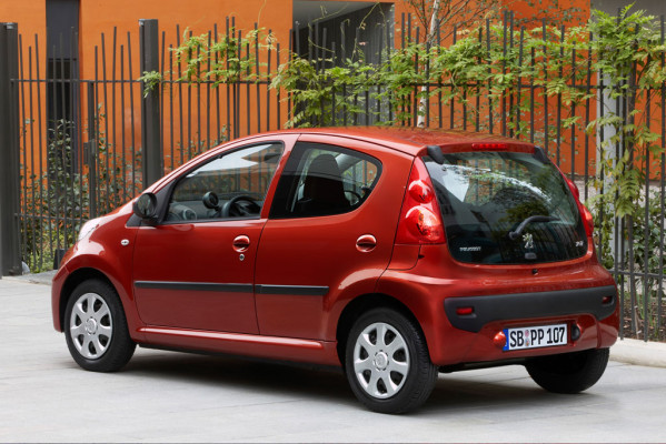 Peugeot überarbeitet den 107