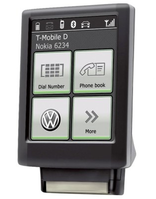 Volkswagen bietet Bluetooth-Touch-Adapter an