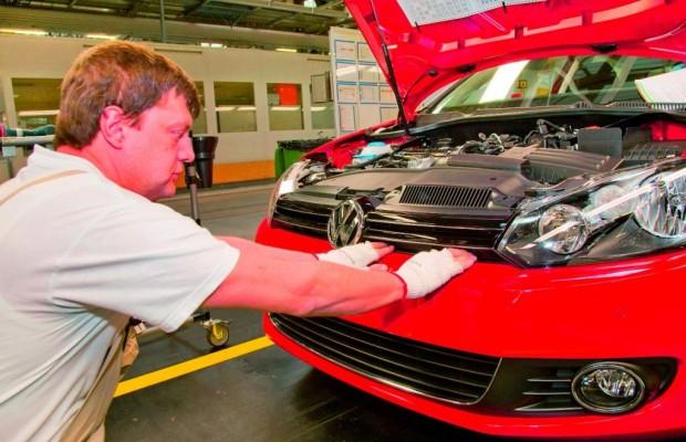 Volkswagen baute in Zwickau rund 254 000 Golf und Passat