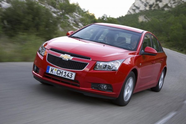 Chevrolet Cruze: Kompakte Limousine als Preisbrecher
