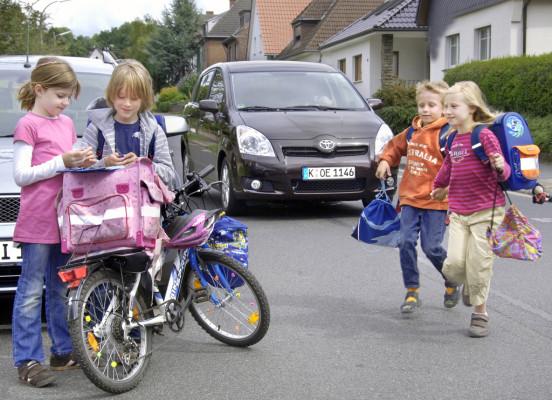 EU will Zahl der im Straßenverkehr getöteten Kinder deutlich senken