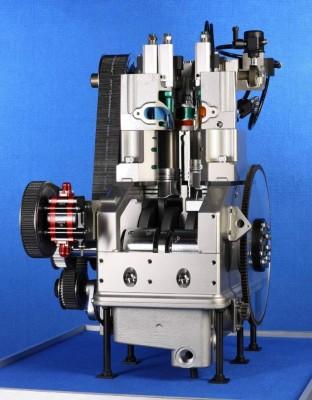Neuer Sparmotor: Arbeitsteilung, Turbo und Druckluft-Hybrid