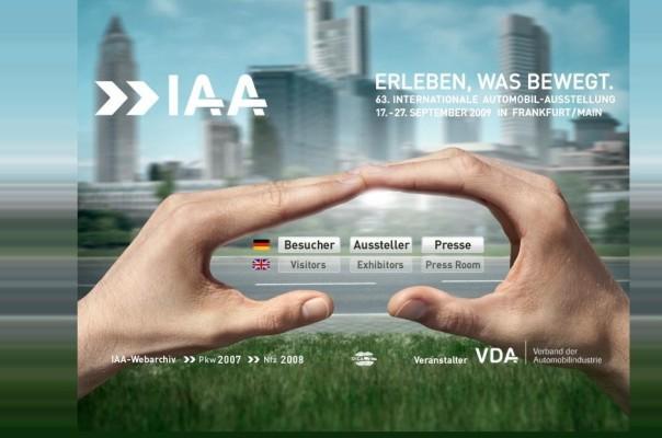 """IAA 2009: """"Hallo Frau"""" und """"Für Sie"""" veranstalten Ladiescorner"""