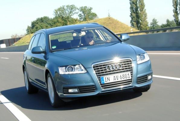 Audi A6 muss in die Werkstatt