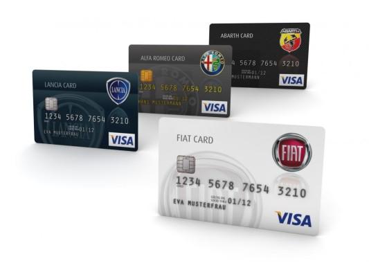 Fiat: Bank mit markenbezogene Kreditkarten