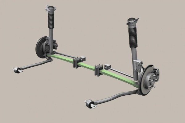 ZF entwickelt Leichtbau-Fahrwerke