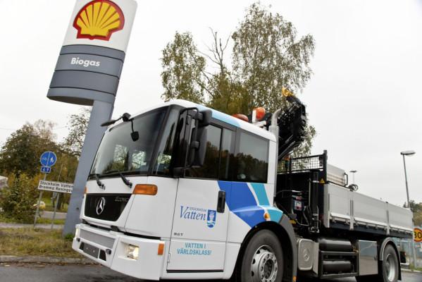 Mercedes-Benz Econic mit Gasantrieb: Marktführer im Biogasbereich