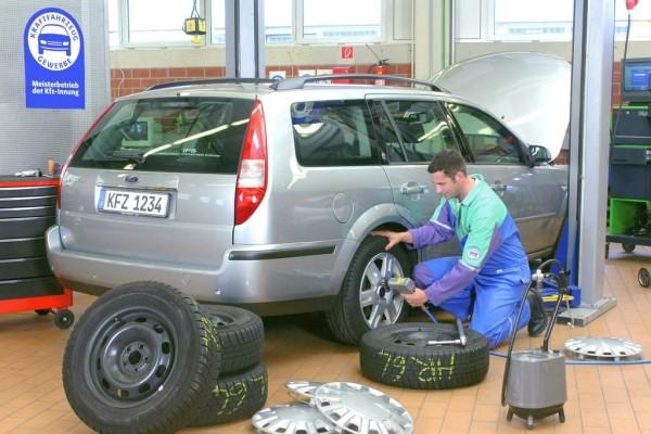Welche Reifengrößen sind zulässig?
