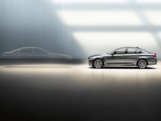Weltpremiere: Die neue BMW 5er Limousine