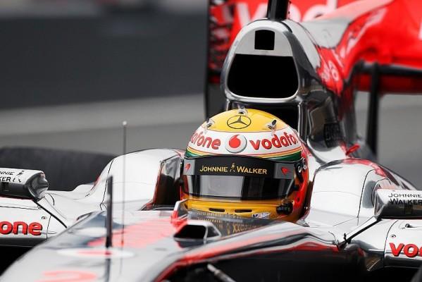Lewis Hamilton in Jerez Schnellster: Der Wettergott hatte ein Einsehen