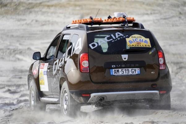 Dacia startet mit zwei Duster bei Rallye in Marokko