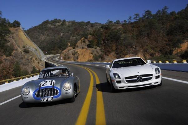 Zwei Flügeltürer auf den Spuren der Carrera Panamericana Mexiko