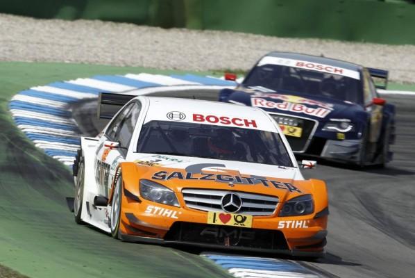DTM 2010: Mercedes-Benz startete vor Audi in die neue Saison
