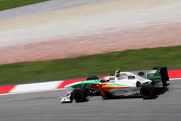 Liuzzi glücklich mit dem Auto: Erwarte interessantes Qualifying