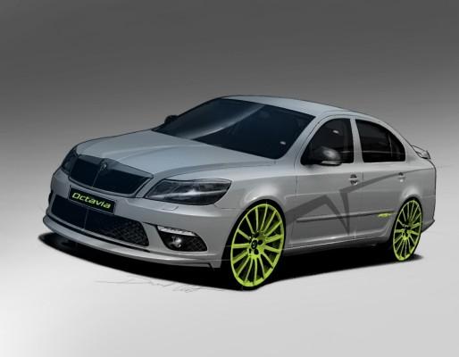 Škoda zeigt beim GTI-Treffen den Octavia RS+