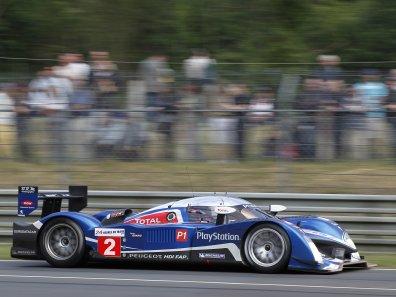 Le Mans: Peugeot auf den ersten vier Startplätzen