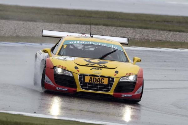 ADAC GT Masters: Audi R8 LMS mit neun Top-Ten-Platzierungen