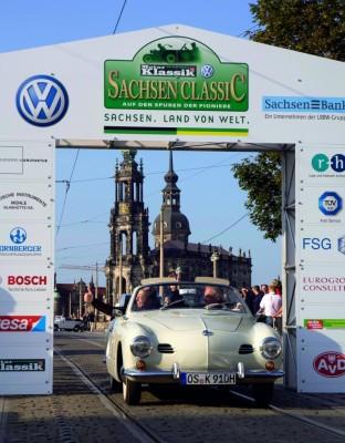 Volkswagen ist bei den Sachsen Classic vertreten