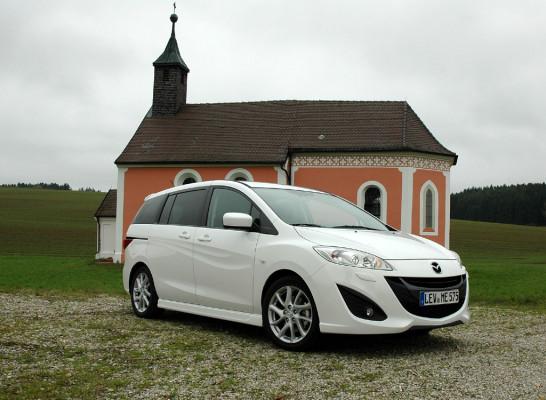 Der mit der Natur spielt: Mazda5- Neuauflage startet noch Mitte Oktober