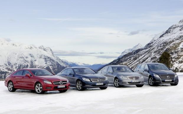 Allradantrieb 4Matic jetzt auch für den Mercedes-Benz CLS