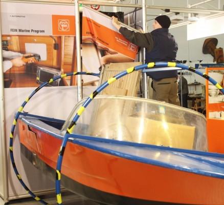 Boatfit 2011: Messeaufbau ist im volle Gange