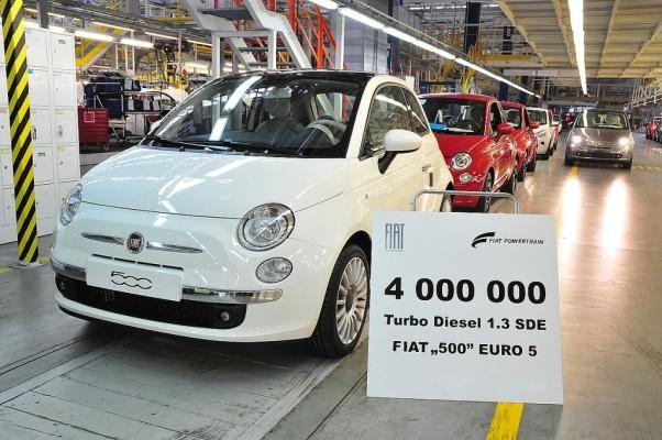 Fiat produzierte viermillionsten 1.3-Liter-Multijet-Motor