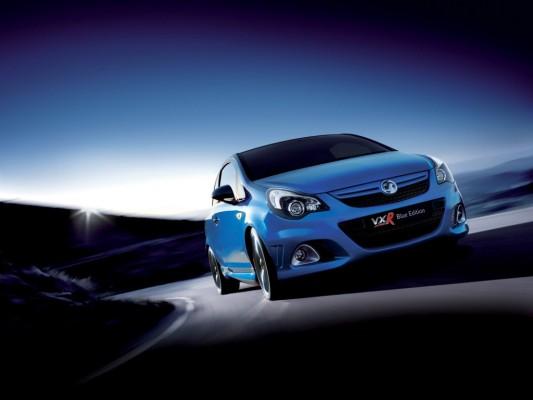 Vauxhall Corsa VXR Blue: Englischer Blaublüter gibt sich kampflustig