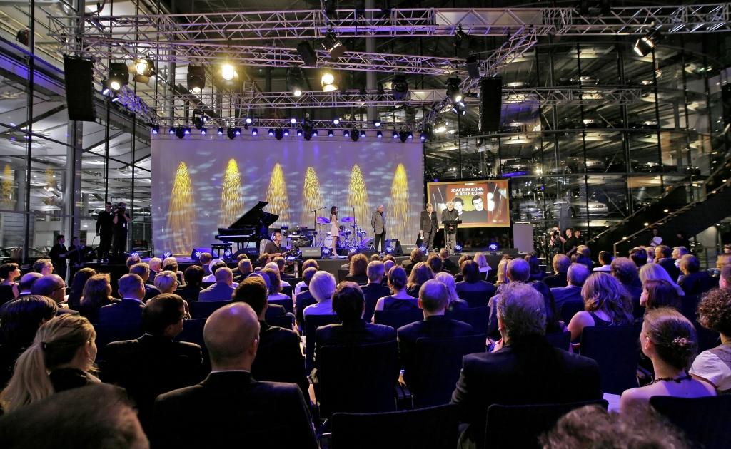 ECHO Jazz 2011: Die Gläserne Manufaktur verwandelte sich in ein Festsaal