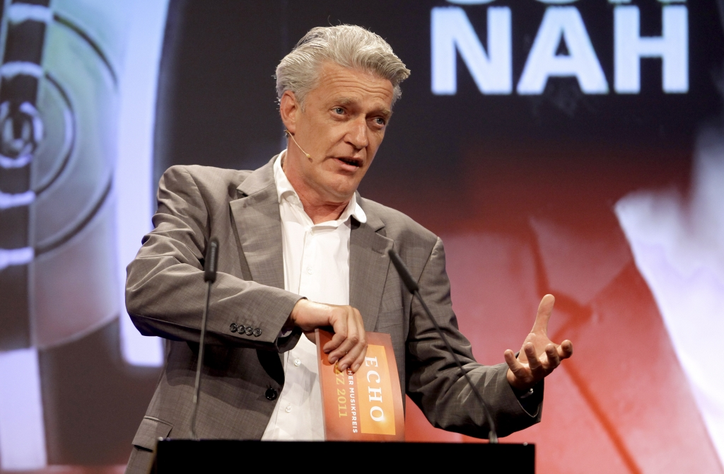 ECHO Jazz 2011: Dieter Moor moderierte den Abend