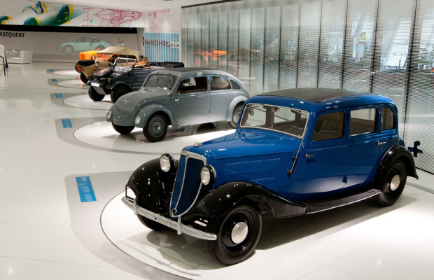 Porsche erinnert an 80 Jahre Konstruktionstätigkeit