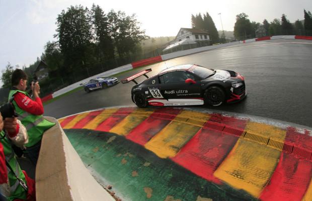 24h Spa: Zwei Audi R8 LMS in den Top Ten