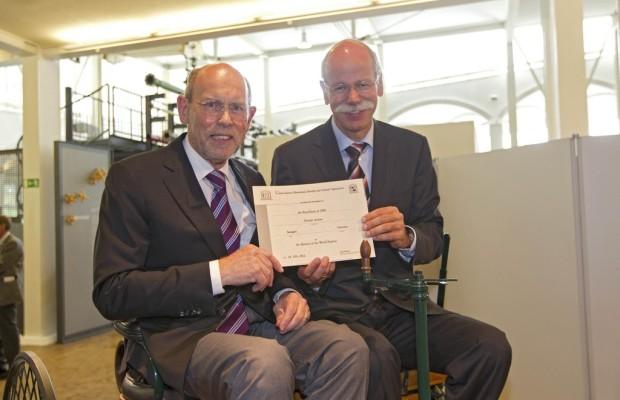 Patentschrift von Carl Benz ist Weltdokumentenerbe