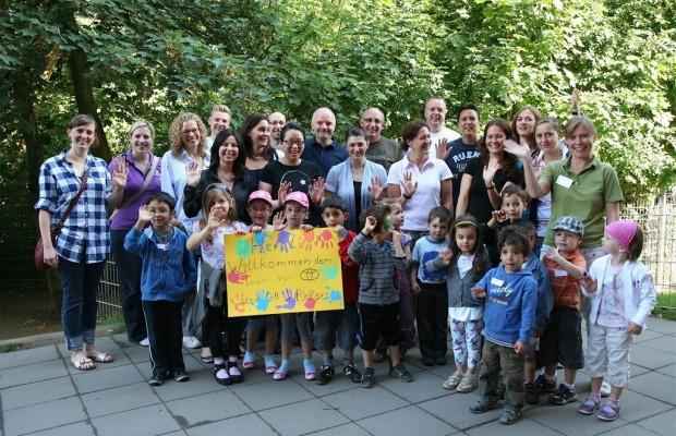 Toyota-Mitarbeiter unterstützen integrative Kindertagesstätte