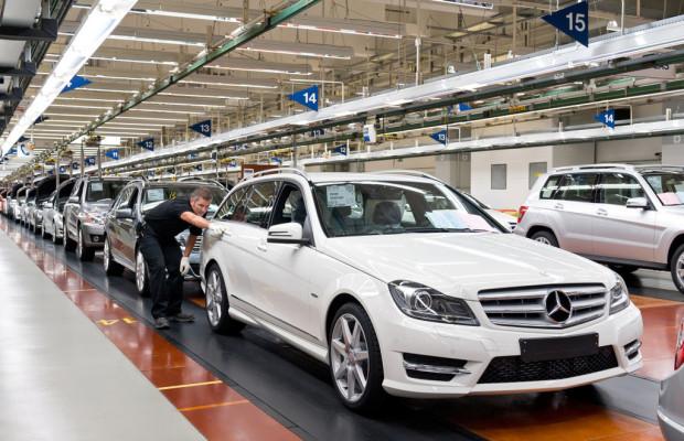 750 000stes Modell auf C-Klasse- und GLK-Montagelinie vom Band gelaufen