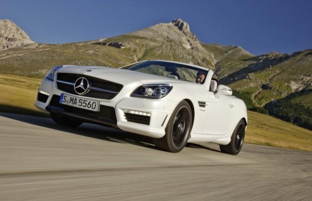 Mercedes-Benz SLK AMG 55 setzt Bestwerte im Segment