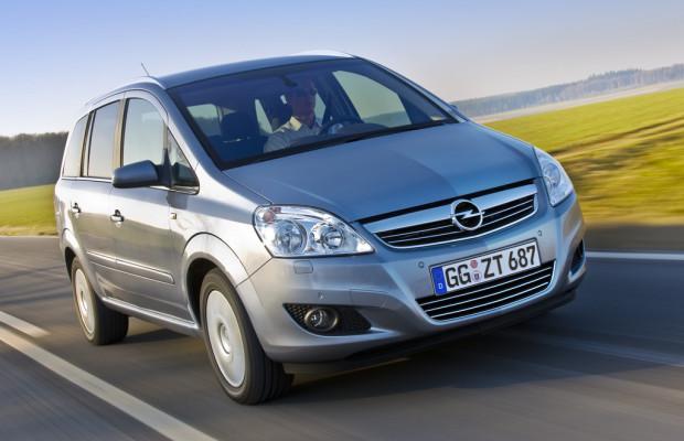 Opel Zafira B bleibt als Family im Programm