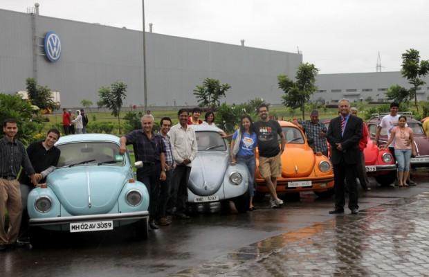 Volkswagen-Käfer-Treffen in Indien