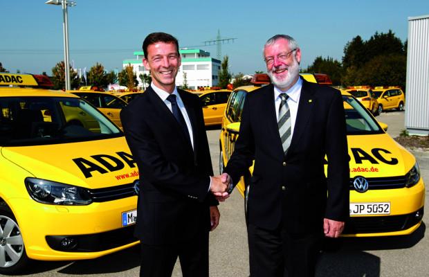 40 Volkswagen Touran für ADAC-Straßenwacht